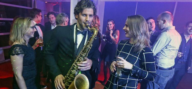 Saxofonist Stan van de Wetering bij Artist Capitol