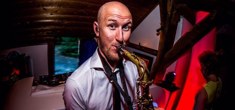 Saxofonist Tim Baker bij Artist Capitol