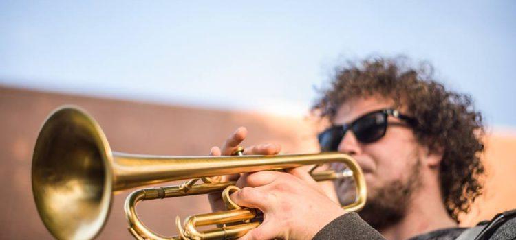 Trompettist Luuk Hof bij Artist Capitol