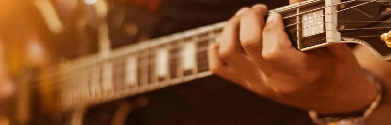 artiest gitarist speelt gitaar band coverband artist capitol