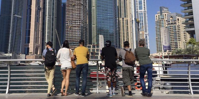 POPGUNNN naar Dubai